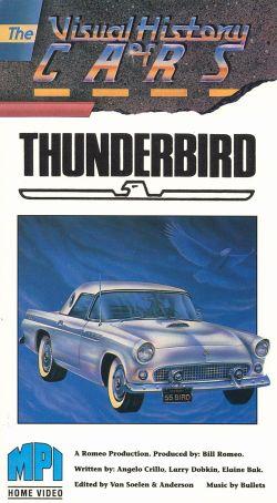 The Visual History of Cars: Thunderbird