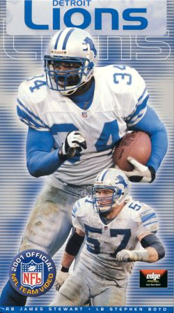 NFL: 2001 Detroit Lions Team Video