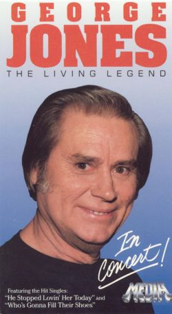 George Jones: The Living Legend in Concert