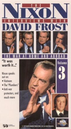 The Nixon Interviews with David Frost, Vol. 3: The War at Home and Abroad