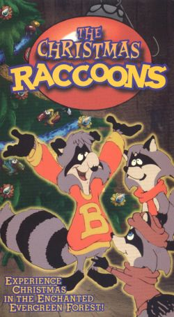 Christmas Raccoons