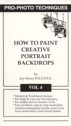 Pro-Photo Techniques, Vol. 4: Painting Creative Portrait Backdrops