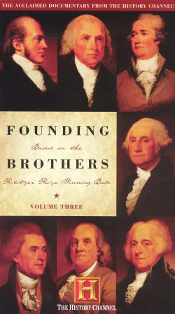 founding brothers 3 essay Free essay: in the book founding brothers by joseph ellis, the author relates the  stories of six crucial historic events that manage to  654 words | 3 pages.