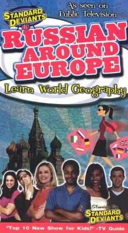 Standard Deviants TV: Russian Around Europe - Learn World Geography