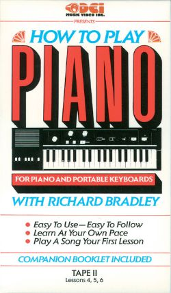 How to Play Piano: For Piano and Portable Keyboards, Tape II