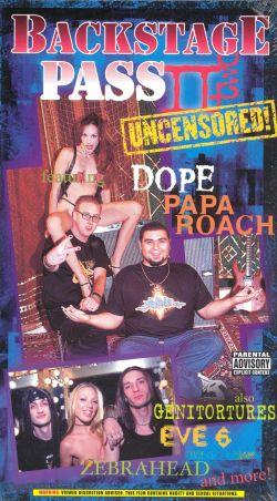 Backstage Pass II: Uncensored!