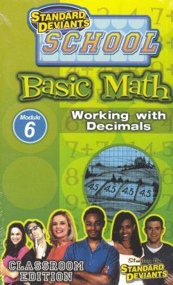 Standard Deviants School: Basic Math, Program 6