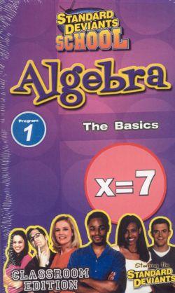 Standard Deviants School: Algebra, Program 1 - The Basics