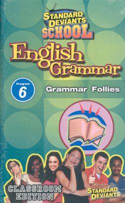 Standard Deviants School: English Grammar, Program 6
