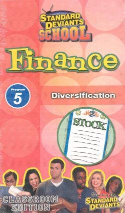 Standard Deviants School: Finance, Program 5 - Diversification
