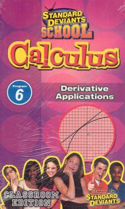 Standard Deviants School: Calculus, Program 6 - Derivative Applications