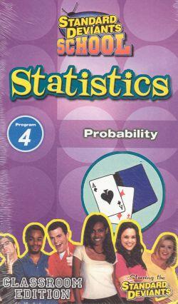 Standard Deviants School: Statistics, Program 4 - Probability