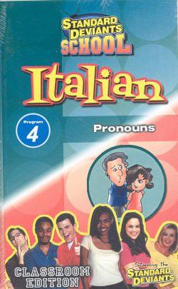 Standard Deviants School: Italian, Program 4