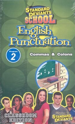 Standard Deviants School: English Puncuation, Program 2