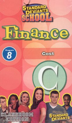 Standard Deviants School: Finance, Program 8 - Cost