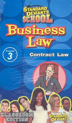 Standard Deviants School: Business Law, Program 3