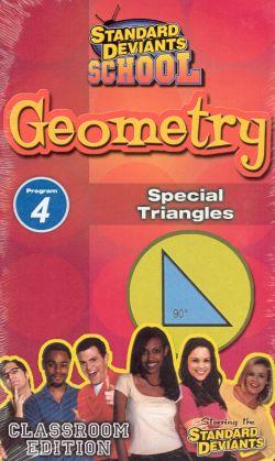 Standard Deviants School: Geometry, Program 4 - Special Triangles