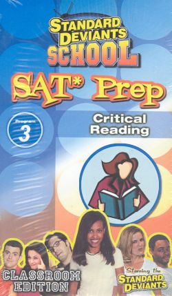 Standard Deviants School: SAT Prep, Program 3 - Critical Reading