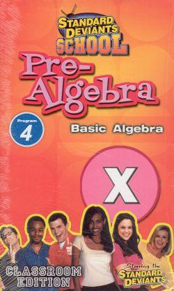 Standard Deviants School: Pre-Algebra, Program 4