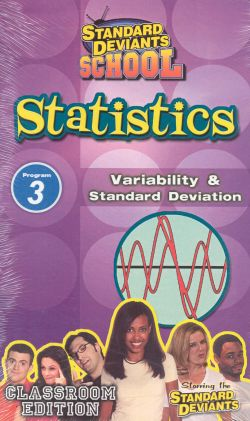 Standard Deviants School: Statistics, Program 3 - Variability and Standard Deviation