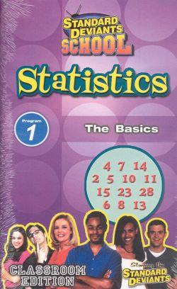 Standard Deviants School: Statistics, Program 1 - The Basics