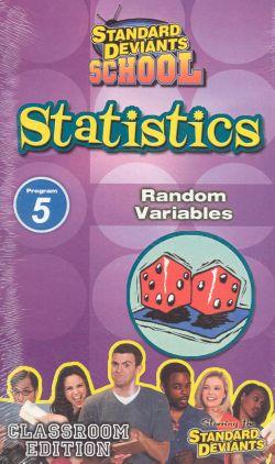 Standard Deviants School: Statistics, Program 5 - Random Variables