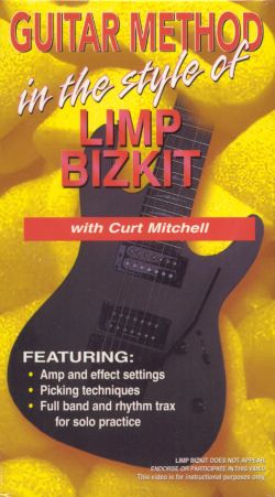 Guitar Method: In the Style of Limp Bizkit