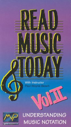 Read Music Today, Vol. 2: Understanding Music Notation