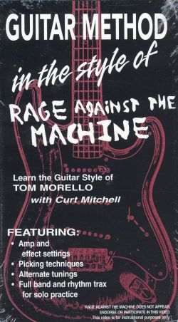 Guitar Method: In the Style of Rage Against the Machine