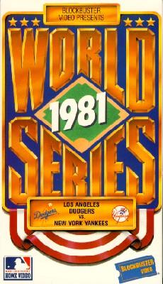 MLB: 1981 World Series