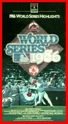 MLB: 1986 World Series - NY vs. Boston