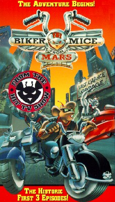 Biker Mice from Mars: The Adventure Begins