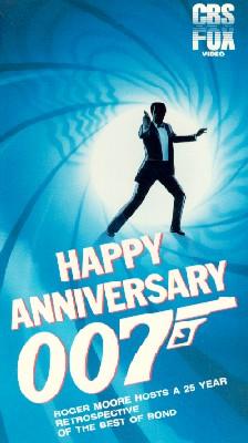 Happy Anniversary 007: 25 Years of James Bond