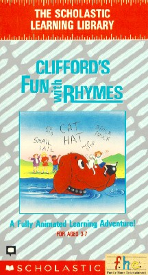 Clifford the Big Red Dog: Clifford's Fun with Rhymes