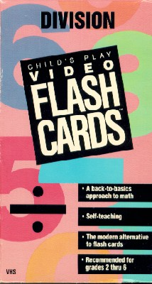 Child's Play Video Flash Cards: Division
