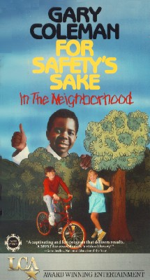 Gary Coleman for Safety's Sake in the Neighborhood