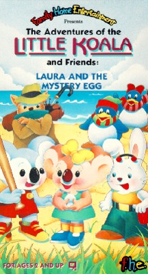 Little Koala and Friends: Laura and the Mystery Egg