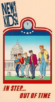 New Kids on the Block Cartoons, Episode 3: In Step ... Out of Time