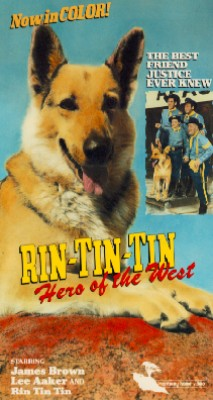 Rin Tin Tin, Hero of the West