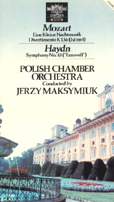 Polish Chamber Orchestra, Conducted by Jerzy Maksymiuk