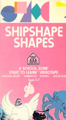 School Zone: Shipshape Shapes
