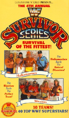 WWF: 4th Annual Survivor Series