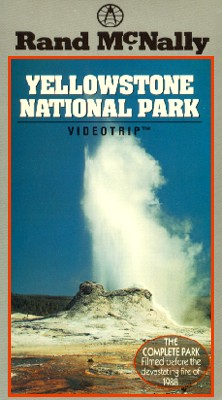 Rand McNally Videotrip Travel Guide: Yellowstone National Park