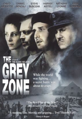 a review of the tim nelsons film the grey zone 2001 Abandon ship (aka seven waves away) 1957 drama/thriller tyrone power, mai zetterling $1200 abandoned (aka abandoned woman) 1949 film.