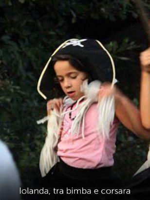 Iolanda, tra bimba e corsara