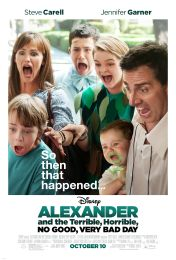 Alexander And The Terrible, Ho - Steve Carell (DVD) UPC: 786936842821