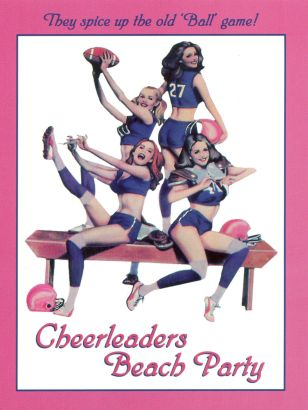 Cheerleaders' Beach Party