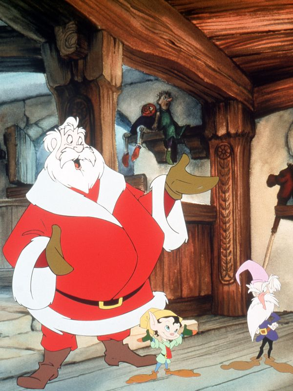The Story of Santa Claus (1998) - Toby Bluth   Cast and ...