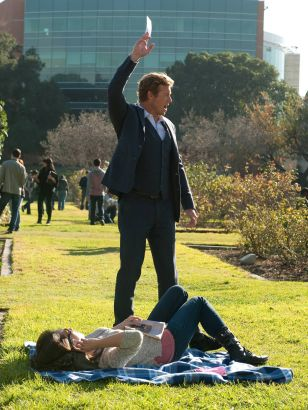 The Mentalist: Red Lacquer Nail Polish