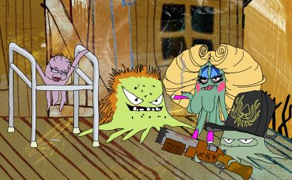 Squidbillies Animated Series Allmovie